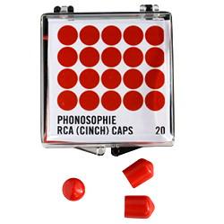 Phonosophie RCA-Caps 20 Stück Packung